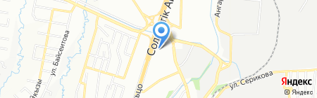 Глория на карте Алматы