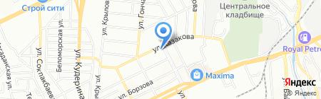 Алдияр Авто ТОО на карте Алматы