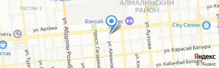 Ай-Дан на карте Алматы