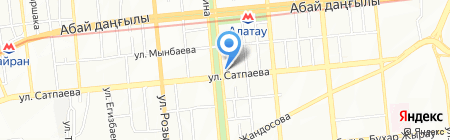 Арыстан продуктовый магазин на карте Алматы