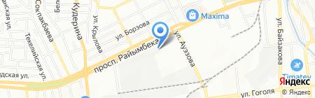Стройдормаш-Алматы на карте Алматы