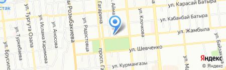 Фабрика интернет-решений на карте Алматы