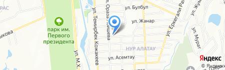 Нур-Принт на карте Алатау