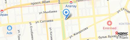 Интерпайп Казахстан на карте Алматы
