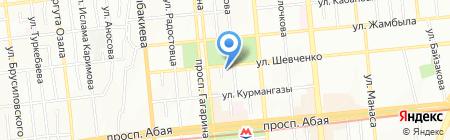 SARBAZ на карте Алматы