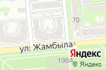 Схема проезда до компании Академия Lashmaker в Алматы