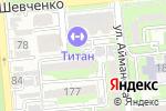 Схема проезда до компании Data Center Systems в Алматы