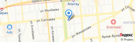 НурКаз Интернационал торговая компания на карте Алматы