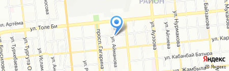 Аскар на карте Алматы