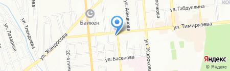 Кислородная терапия на карте Алматы