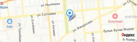 Дара-Ансар на карте Алматы