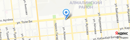 Массажный кабинет на карте Алматы