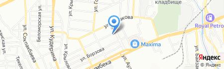 Акппэкспресс на карте Алматы