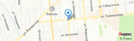 MR. T. DONERS & BERLIN FOODS на карте Алматы