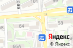 Схема проезда до компании Кислородная терапия в Алматы
