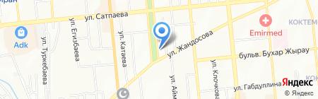 Стела Электрик на карте Алматы