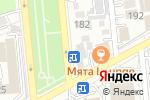 Схема проезда до компании Zaika Studio в Алматы