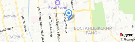 ZETA на карте Алматы