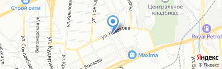 Венера на карте Алматы