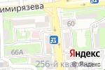 Схема проезда до компании АМД СЕРВИС в Алматы