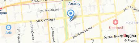 DDT Zone на карте Алматы