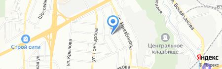 Медснаб Плюс на карте Алматы