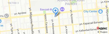 Мугалим жане когам на карте Алматы