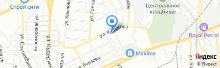 Хлеб жизни местное религиозное объединение на карте Алматы