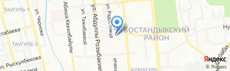 ГулСтар на карте Алматы