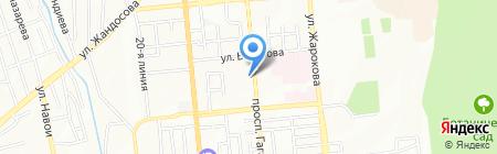 Зейнеп на карте Алматы