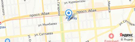 Этал на карте Алматы
