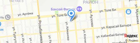 Гуля на карте Алматы