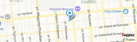 Парадигма на карте Алматы