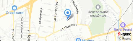 Бутончик на карте Алматы
