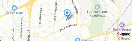 КазСПО-N на карте Алматы
