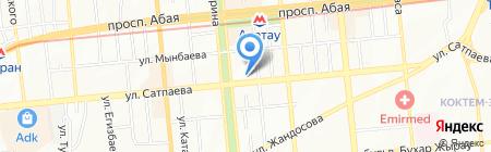 Отауриэлти на карте Алматы