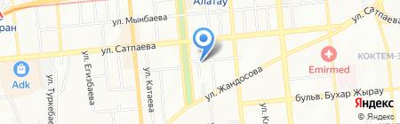 ПродМаг на карте Алматы