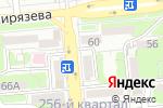 Схема проезда до компании ORCHARD в Алматы