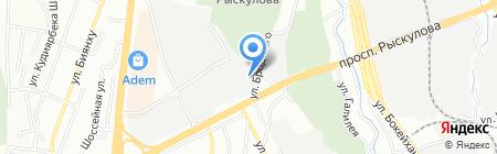 Специализированный отряд №1 на карте Алматы