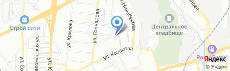 Тауекел на карте Алматы
