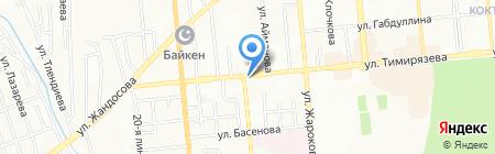 Дауыс на карте Алматы