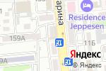Схема проезда до компании Pari`s Bakery в Алматы
