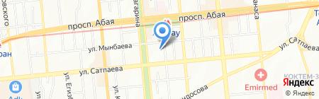 Amekom на карте Алматы