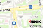 Схема проезда до компании Сафья в Алматы