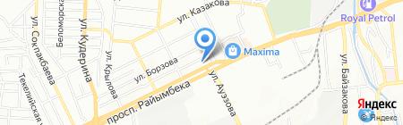 Курылыс-А ЛТД на карте Алматы