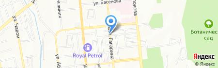 Назжол на карте Алматы
