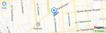 Управление государственных доходов по Бостандыкскому району на карте Алматы