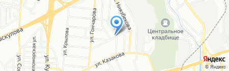 Принцесса Равана на карте Алматы