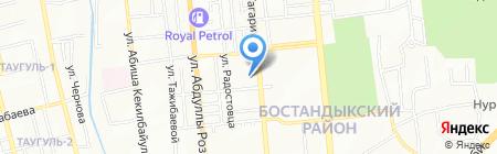 Junior на карте Алматы
