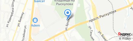 SB Plast на карте Алматы